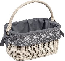Darrin Wicker Basket Brambly Cottage