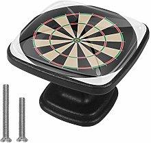 Dart Board No Numbers Winner Goal Drawer Knob Pull