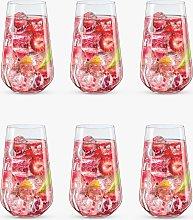 Dartington Crystal Simplicity Highball Glasses,