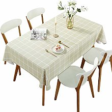 DARUITE Gingham Tablecloth, PVC Table Cloth