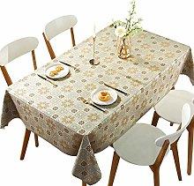 DARUITE PVC Bling Table Cloth Waterproof Wipeable,