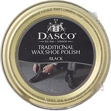 Dasco Wax shoe polish - Black