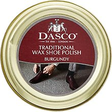 Dasco Wax shoe polish - Burgundy