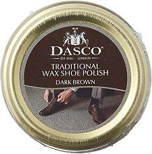 Dasco Wax shoe polish - Dark Brown