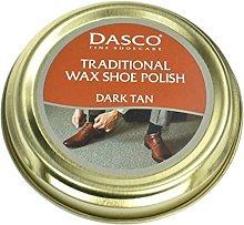 Dasco Wax shoe polish - Dark Tan by Dasco
