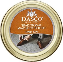 Dasco Wax shoe polish - Dark Tan