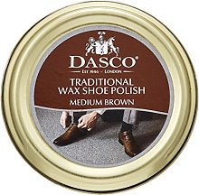 Dasco Wax shoe polish - Medium Brown