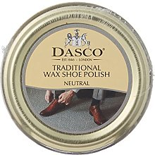 Dasco Wax shoe polish - Neutral