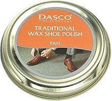 Dasco Wax shoe polish - Tan by Dasco