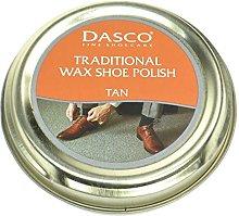 Dasco Wax shoe polish - Tan by Dasco