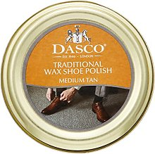 Dasco Wax shoe polish - Tan