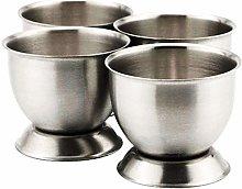 Dashkart EGG CUP SILVER STAINLESS STEEL CIRCULAR