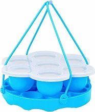 Dasing Silicone Egg Bites Molds and Steamer Rack,