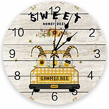 Dasiy Hive Silent Non Ticking Wall Clock, Battery