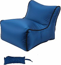 DASNTERED Inflatable Lazy Sofa with Storage Bag,