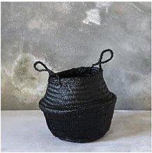 Dassie Artisan - Black Toulouse Sequin Basket