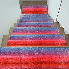 DATOU Rectangular Carpet Non Slip Stair Treads