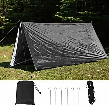 DAUERHAFT Anti-Ultraviolet Tent 210T Silver Coated
