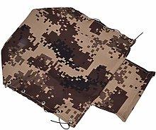 DAUERHAFT Canvas Camouflage Design RC Truck Tent