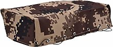 DAUERHAFT Canvas RC Army Truck Tent Stable for