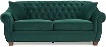 Daventry 3 Seater Chesterfield Sofa Rosalind