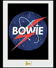 David Bowie NASA Framed Print Wall Art