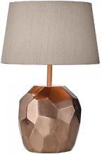 David Hunt lighting - Lustre Copper and Silk Dar