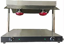 DAVLEX Commercial Plate Warmer Two Lamp Carvery