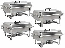 Dawoo 9L Stainless Steel Chafing Dish Sets with
