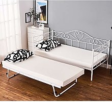 Day Bed Solid Metal Bed Frame 3ft Single Bed Sofa