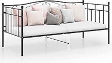 Daybed Single Bed Frame, Solid Bedsteads Platform