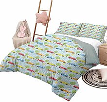 DayDayFun 3 Piece Bedding Sets Baby Bedspread Bed