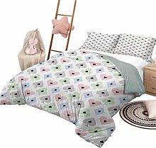 DayDayFun 3 Piece Bedding Sets Casino Bedspread