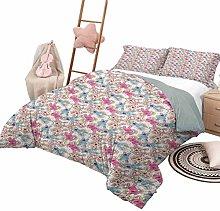 DayDayFun 3 Piece Coverlet Set Baby Kids Bedding