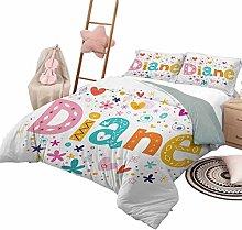 DayDayFun 3-Piece Quilt Set Diane Kids Bedding