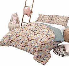 DayDayFun Quilt Bedding Set Baby Bedspread Bed