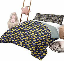DayDayFun Quilt Bedding Set Baby for Boys and