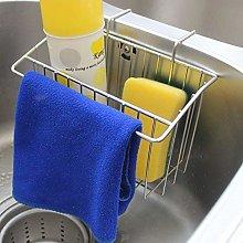 DAYNECETY Hanging Sponge Holder Sink Tidy Caddy