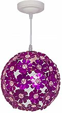 DAYOLY Ceiling Lampshade, Plum Aluminum Chandelier