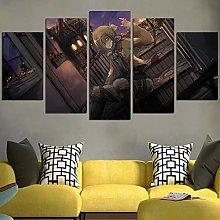 DBFHC Canvas Print 5 Piece Canvas Wall Art For