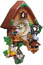 Dbtxwd Durable Cuckoo Clock 12 In, Vintage Wooden