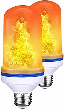 DC CLOUD Light Bulbs E27 Fire Led Light Bulb Flame