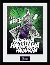 DC Comics Joker Cards Framed Print Wall Art
