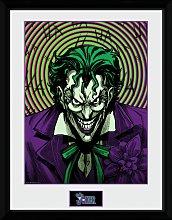 DC Comics Joker Insane Framed Print Wall Art