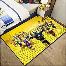 Dc Justice League Carpet Anime Batman Living Room