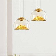 DC Wesley Mountain Glass Chandelier Nordic Hanging