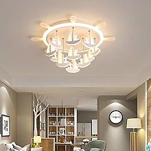 DC Wesley Rudder-shaped Living Room Bedroom LED