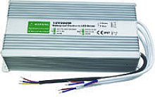 DC12V IP67 200W Waterproof LED Driver Power Supply