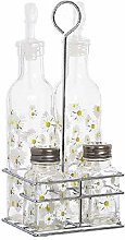 Dcasa 4 Pieces Margaritas Oils and Containers for