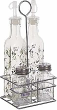 Dcasa 4 Pieces Oils and Containers for Dressing